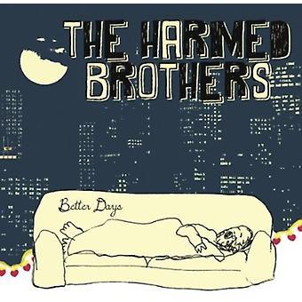 Skadet brødre - bedre dage [CD] USA importerer
