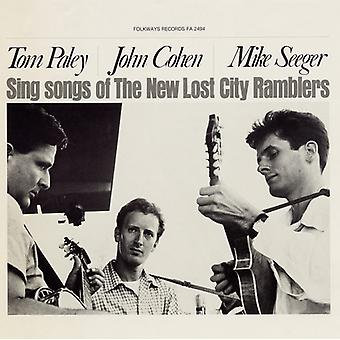 New Lost City Ramblers - importation USA Tom Paley John Cohen & Mike Seeger Sing Songs of T [CD]