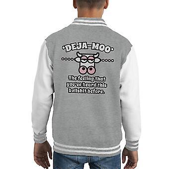 Deja Moo Kid's Varsity Jacket