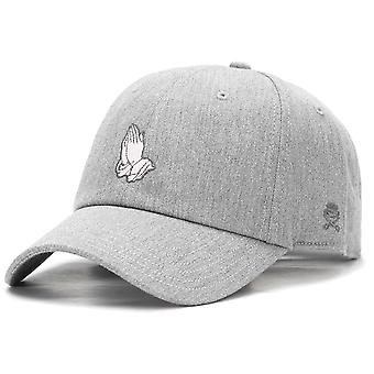 Cayler & sons Curved Straback Cap - MERCY heather grey