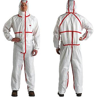 3M 4565Wx 3M 4/5/6 X Large Coverall White Red Type