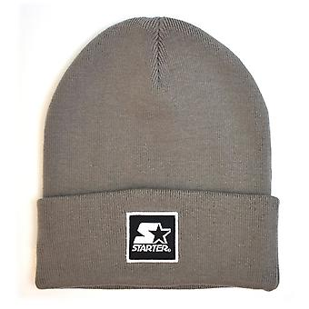 Starter Backboard Shadow Knit Beanie - Charcoal