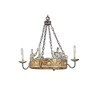 Crown Four Light Wall Lantern - Elstead Lighting Fb/crown/p