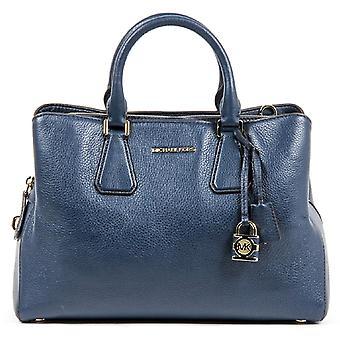 Michael Kors Ladies Camille Large Leather Satchel Handbag