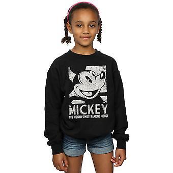 Disney Girls Mickey Mouse Most Famous Sweatshirt