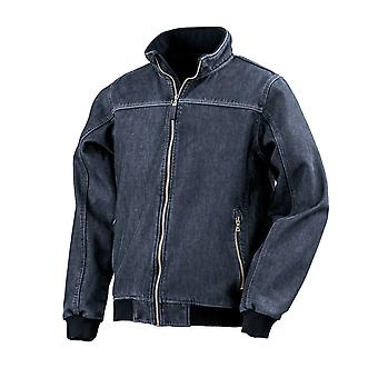 Result Mens Stonewash Denim Softshell