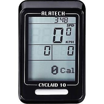 Bike computer (cordless) Alatech Cyclaid 10 Bluetooth