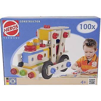 Kit Heros Constructor No. of parts: 100 No. of models: 6 Age category: 4 years and over