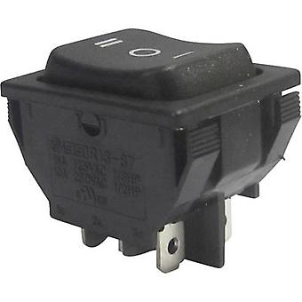 Toggle switch 250 Vac 10 A 2 x On/Off/On SCI R13-8