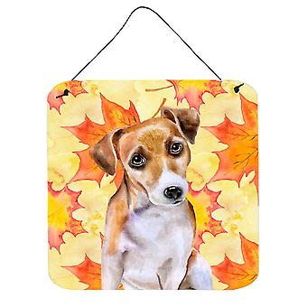 Jack Russell Terrier #2 Fall Wall or Door Hanging Prints