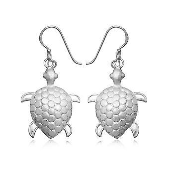Turtle Pendantes in Silver 925 earrings
