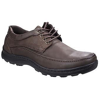 Fleet & Foster Mens Leather Luxor Lace-Up Shoes
