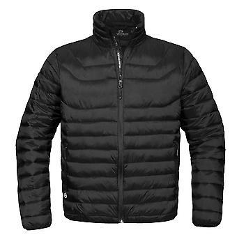 Stormtech Mens Altitude Water Resistant Light Padded Puffa Jacket Black,Navy