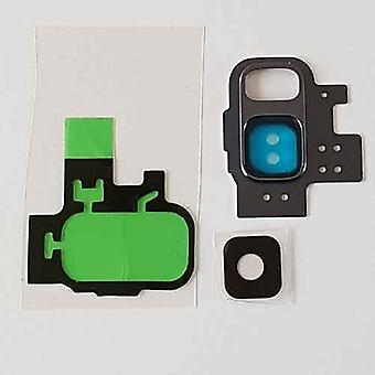 Für Samsung Galaxy S9 Kamera Ring Deckel mit Objektiv und 3 m Klebeband-lila