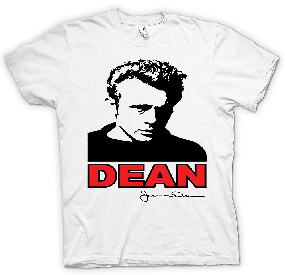 Womens T-shirt - James Dean Pop Art - Movie ikonen