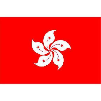 Hong Kong Flagge 5 x 3 ft mit Ösen für hängende