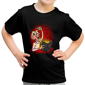 Animaniacs Dr Scratchansniff Deathnote Mix Kid's T-Shirt