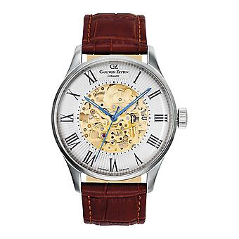 Carl of Zeyten men's watch wristwatch automatic Feldberg CVZ0011WH