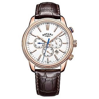 Rotary Mens Monaco Sports Chronograph Leather GS05084/06 Watch