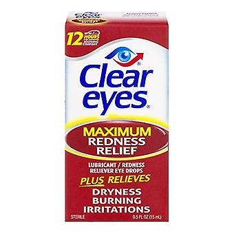 Clear Eyes massimo Rossore Relief Eye Drops