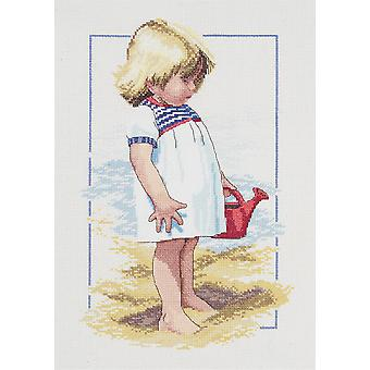 Summer Afternoon Counted Cross Stitch Kit-10
