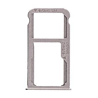 For Huawei Mate 8 SIM Card Tray - Grey