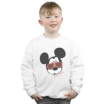 Disney Boys Mickey Mouse Sunglasses Sweatshirt