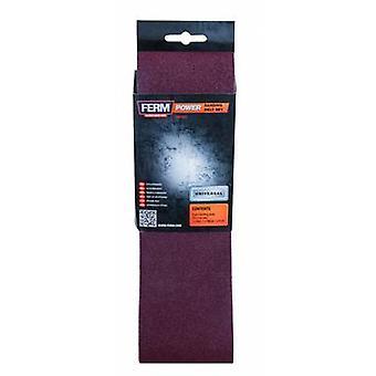 Sandpaper belt Grit size 120 (L x W) 533 mm x 75 mm