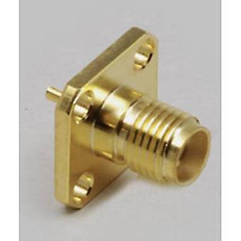 SMA connector Socket, vertical vertical 50 Ω BKL Electronic