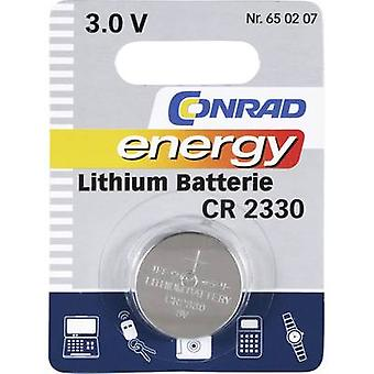 Button cell CR2330 Lithium Conrad energy CR2330 26