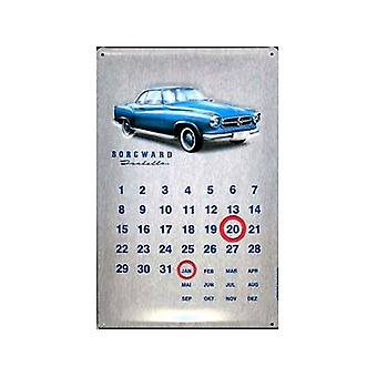 Вечная стальная календарь Borgward Isabella