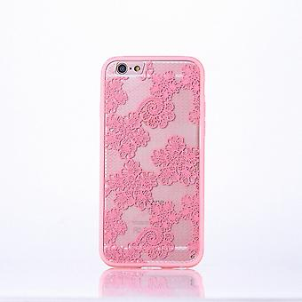 Mobiele zaak mandala voor Apple iPhone 7 ontwerp gevaldekking van het motief bloemen cover tas Bumper Rosa