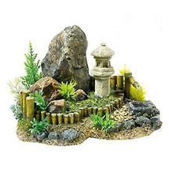 Classic For Pets Zen Garden / Plants 210mm (Fish , Decoration , Ornaments)