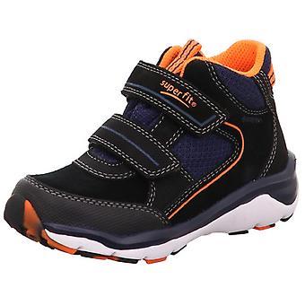 Superfit jungen Sport 5 9239-00 Gore-Tex wasserdichte Stiefel schwarz Orange