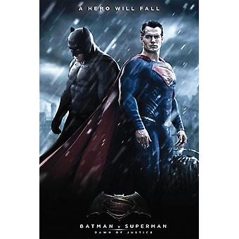 Batman v Superman Movie Poster Print Movie Poster Print Poster Poster Print