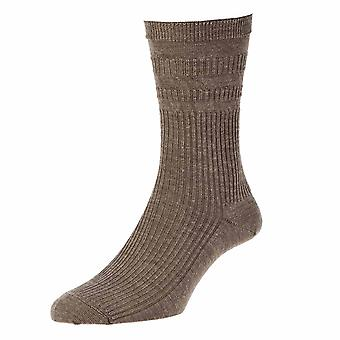 3 Pair Pack Hj Hall Hj90 Wool Rich Softop Wider Loose Top Non Elastic Socks