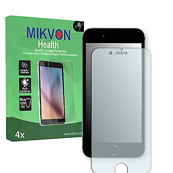 Apple iPhone 6 Screen Protector - Mikvon Health (Retail Package with accessories) (intentionally smaller than the display due to its curved surface)