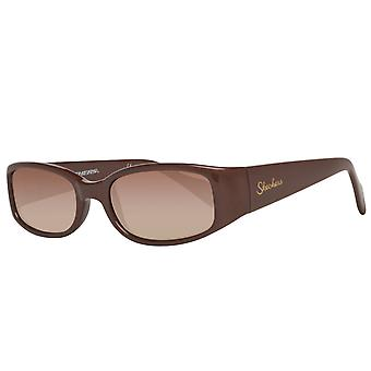 Skechers Womens sunglasses rectangle Brown
