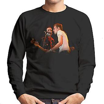 TV Times Paul Simenon Of The Clash Men's Sweatshirt