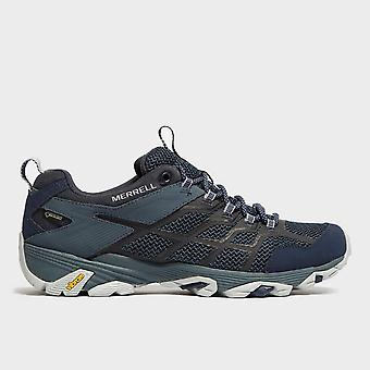 New Merrell Men's Moab FST 2 GORE-TEX® Hiking Shoes Navy