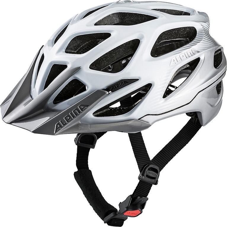Alpina Mythos 3.0 MTB Fahrradhelm    blanc argent