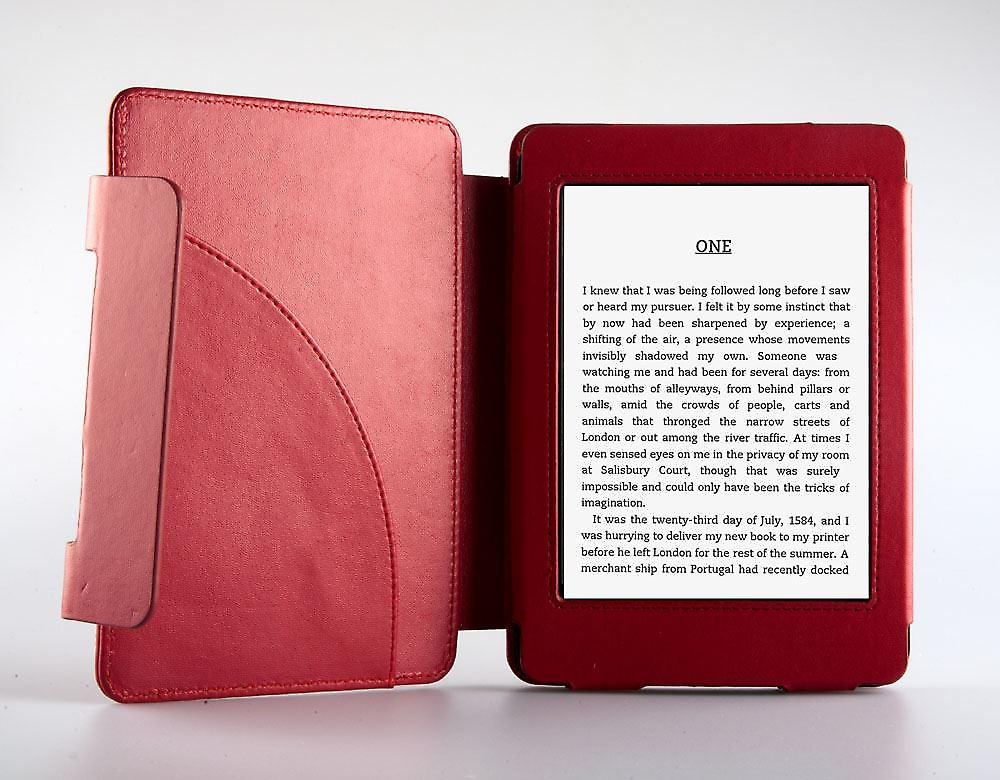 ODYSSEY cover red för Kindle Paperwhite
