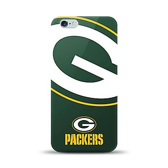 Mizco Sports NFL oversized SnapBack TPU Case voor Apple iPhone 6 plus/6S plus (Greenbay Packers)