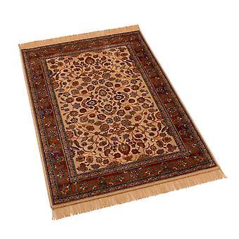 Afghan Ziegler Artificial Faux Silk Effect Rugs 5663/4 100 x 140cm