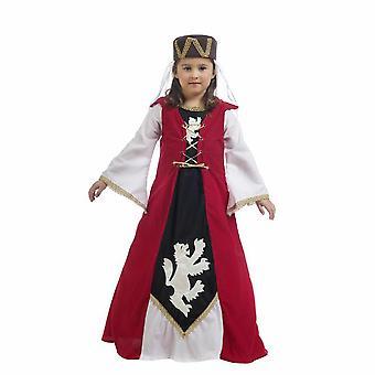 Medieval Leonor Queen child costume medieval noblewoman costume children
