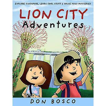 Lion City Adventures - utforska Singapore - lär dig Cool saker och lösa