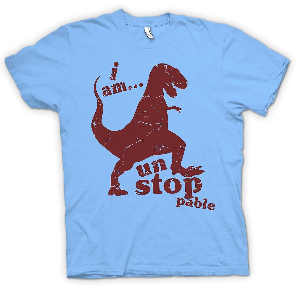 Mens T-shirt - T Rex - I Am Unstoppable