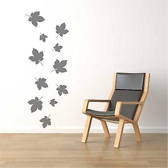 Falling Autumn Leaves Wall Sticker