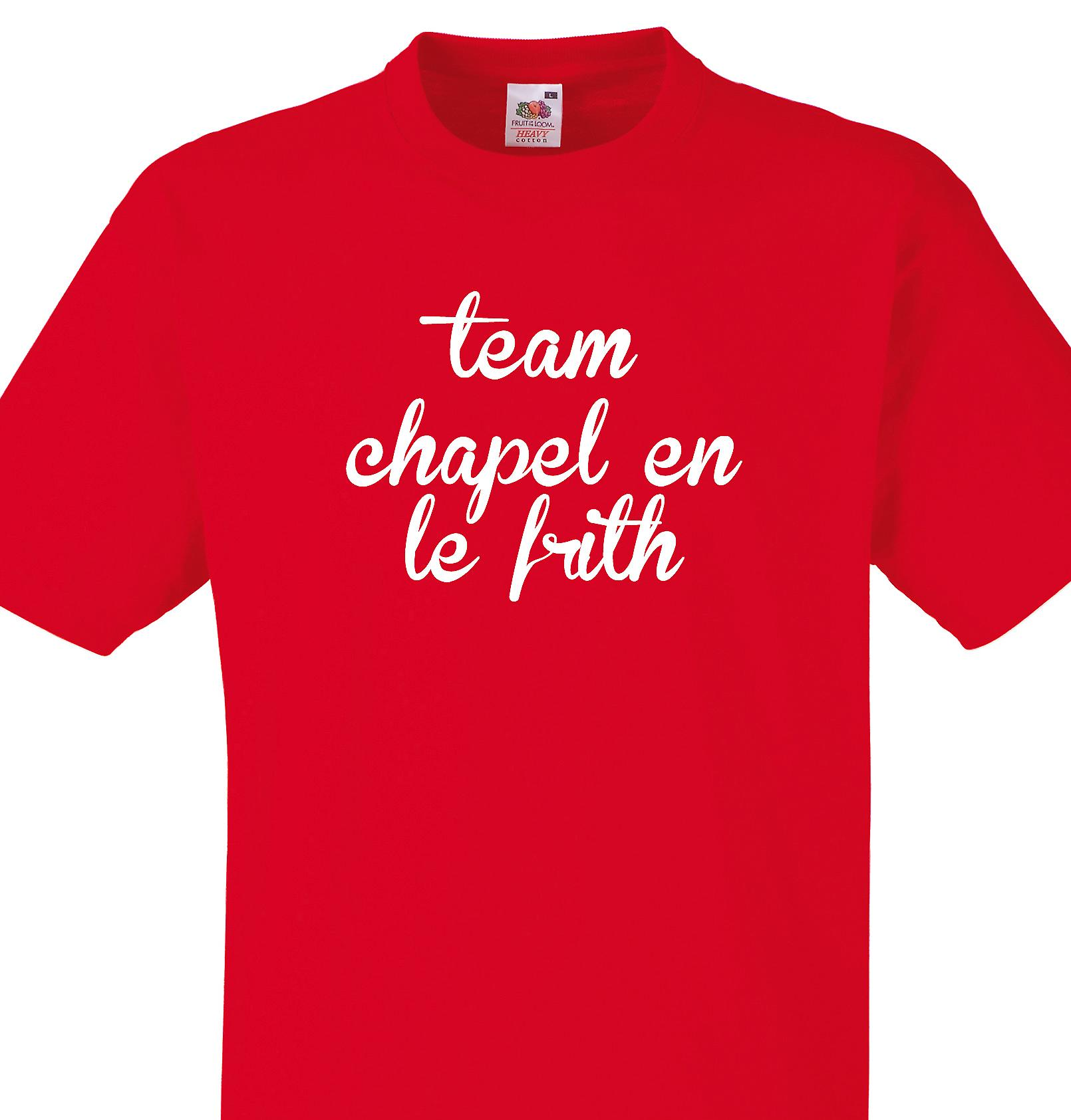 Team Chapel en le frith Red T shirt