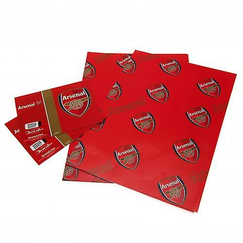 Arsenal Gift Wrap